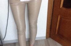 Леггинсы из кожзама с Aliexpress за 750 рублей