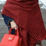 Огромный теплый шарф-плед с Aliexpress за 700 рублей