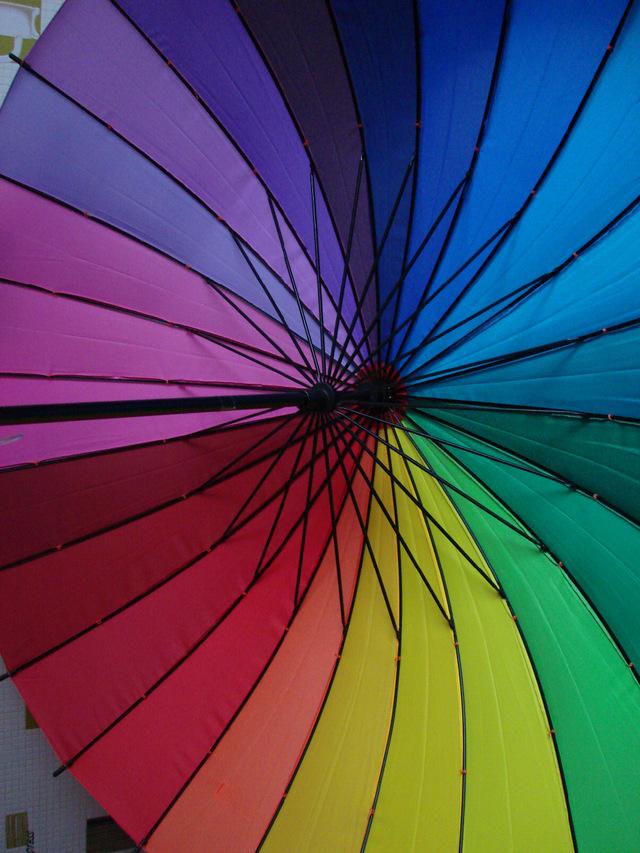 Зонт изнутри