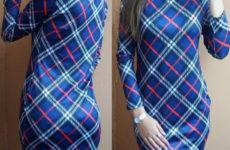 Недорогое платье с Алиэкспресс за 750 рублей
