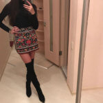 Юбка с вышивкой с Aliexpress за 1300 рублей