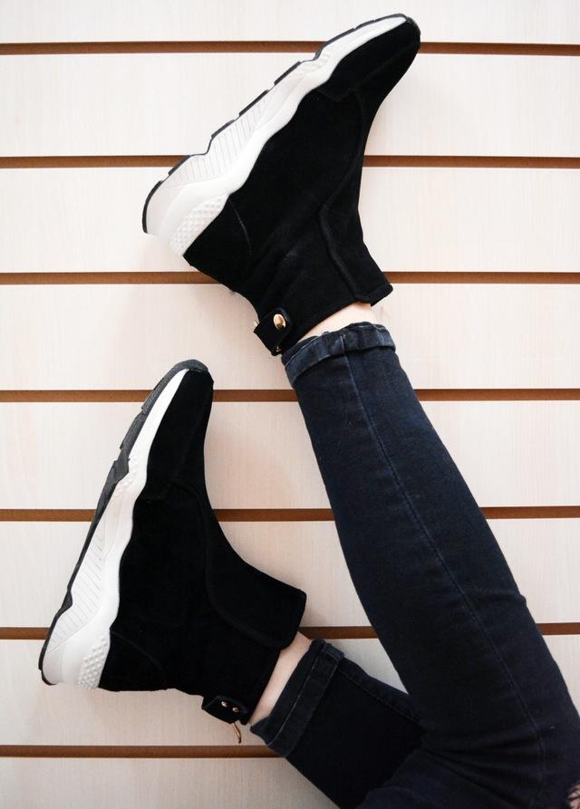 Интересные зимние ботинки под спортивный стиль с Aliexpress