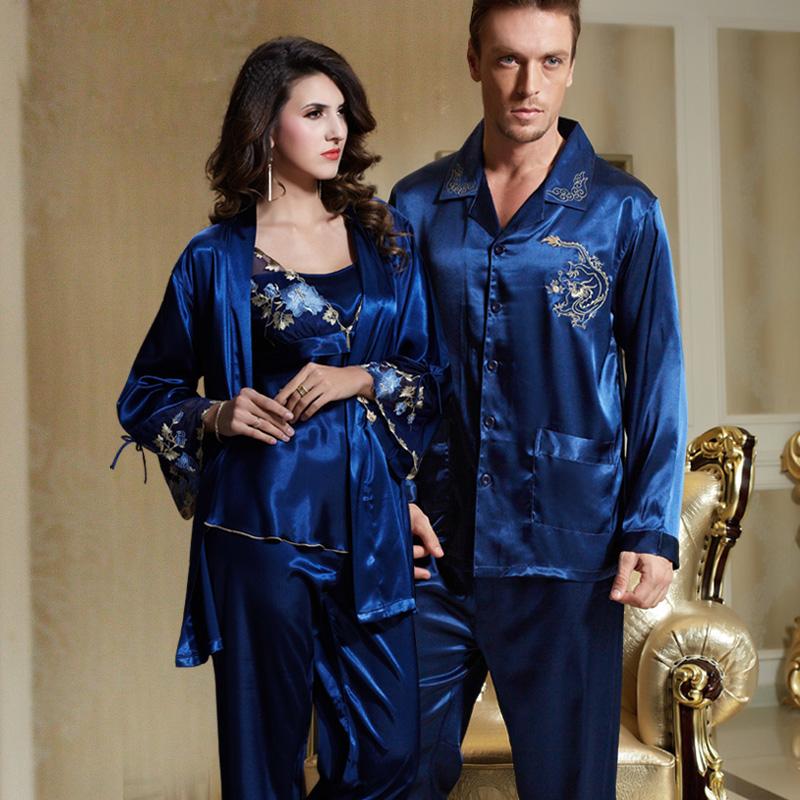 Шёлковые брючные пижамы ~ 2313 руб