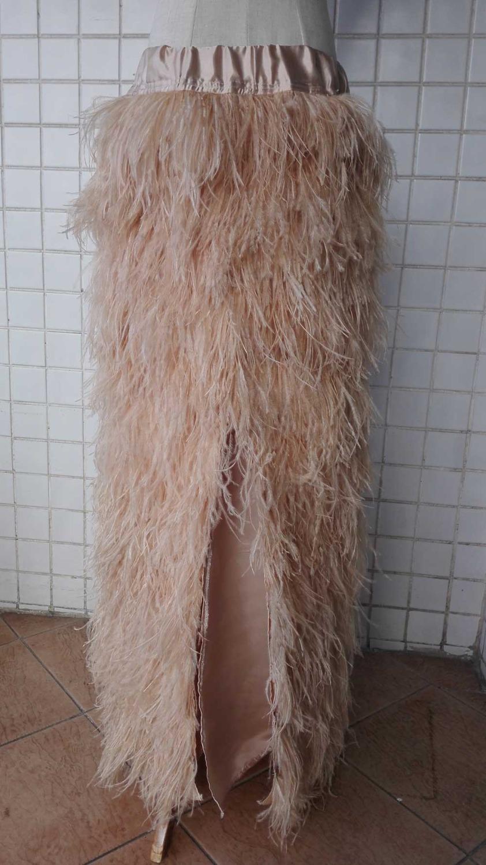 """Длинная юбка с перьями """"Фламинго"""" ~ 18674 руб"""