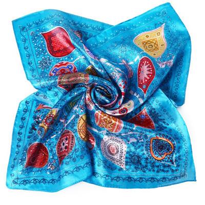 """Шейный платок """"Малахитовая шкатулка"""" ~ 247 руб"""