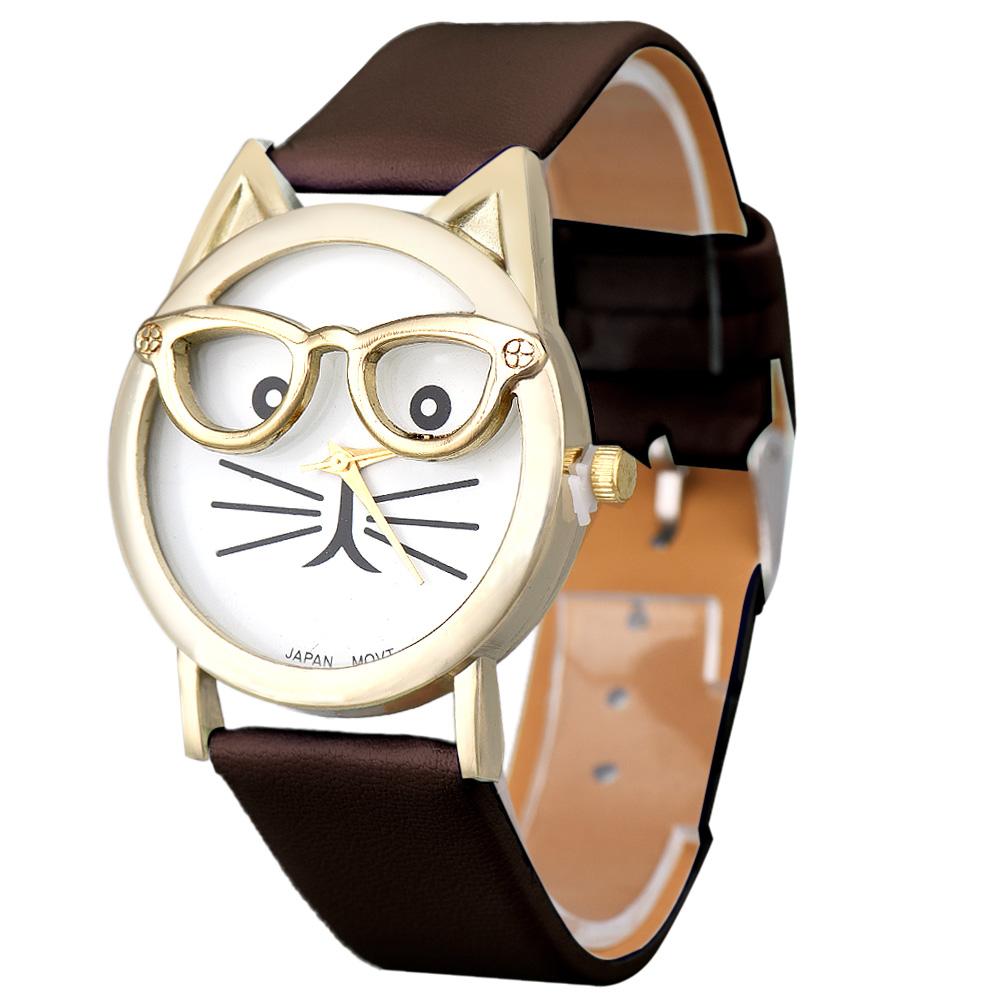 """Часы """"Кошка"""" ~ 120 руб"""