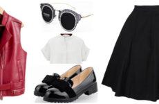 Брутальная кожаная жилетка: с чем носить?