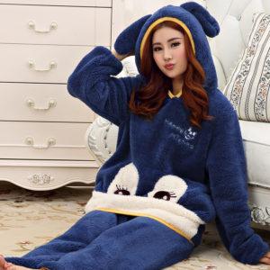 Тёплые пижамы для женщин и мужчин