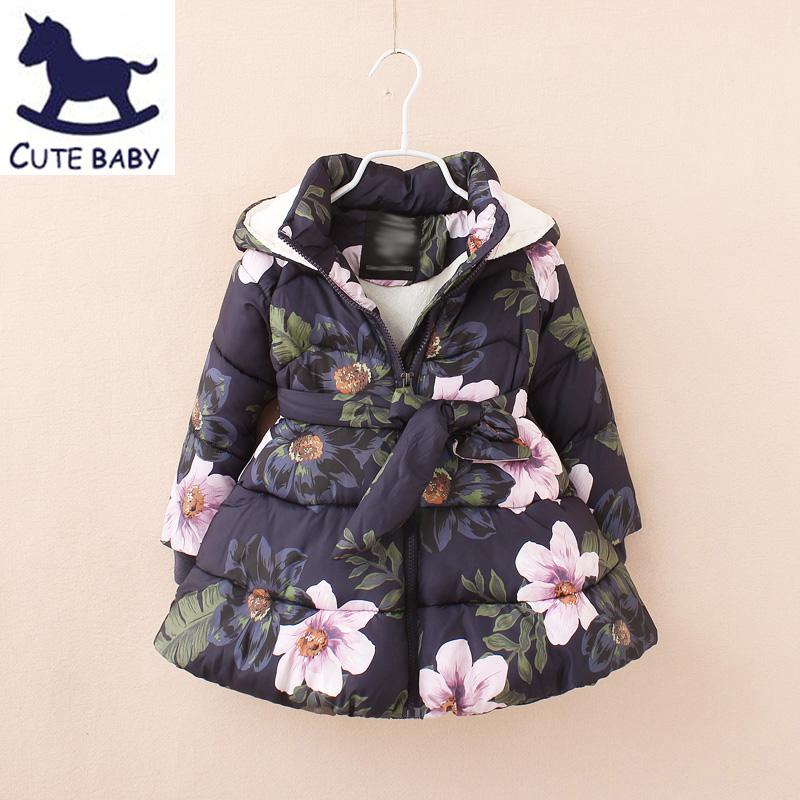 """Зимняя куртка для девочки """"Маленькая принцесса"""" ~ 1720 руб"""