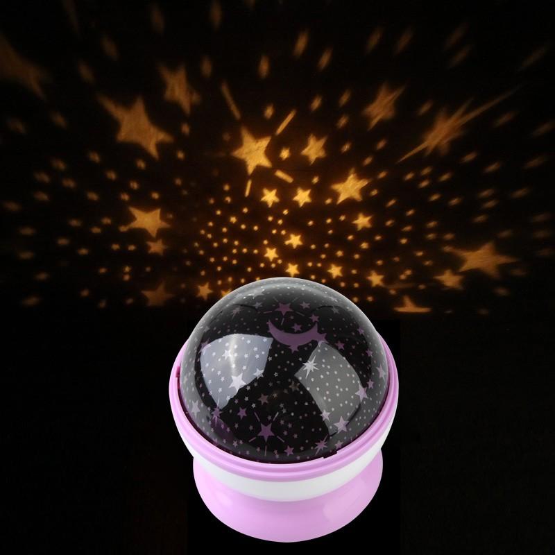Лампа-проектор Звездное небо ~ 500 руб