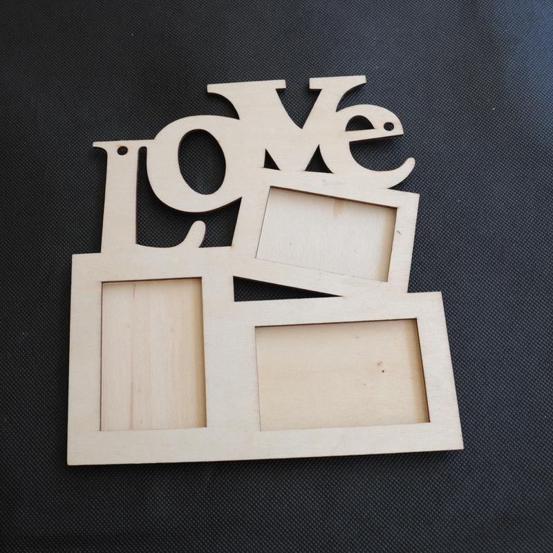 Деревянная фоторамка «LOVE»  ~ 90 руб