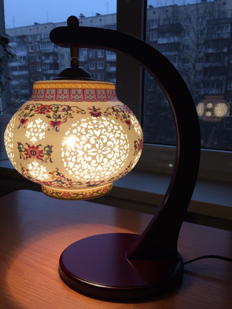 Античная настольная лампа ~ 3000 руб