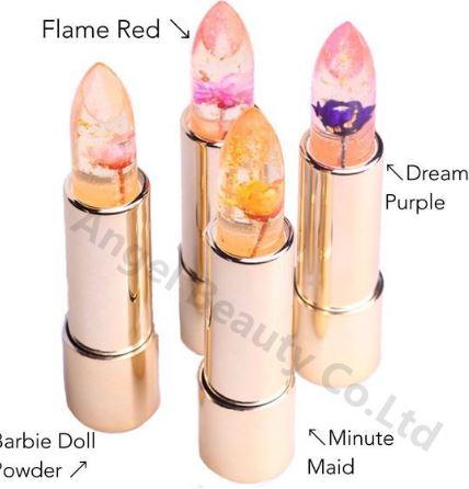 Прозрачная помада Jelly Flower Lipstick: магия изменения цвета ~ 367 руб