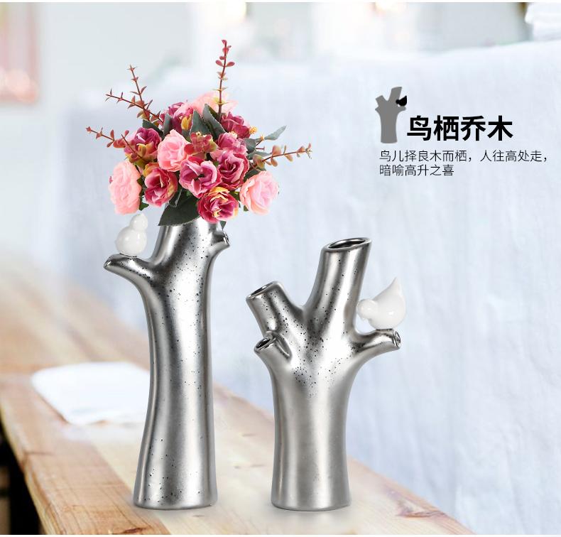 Керамические вазы-ветви ~ 2500 руб