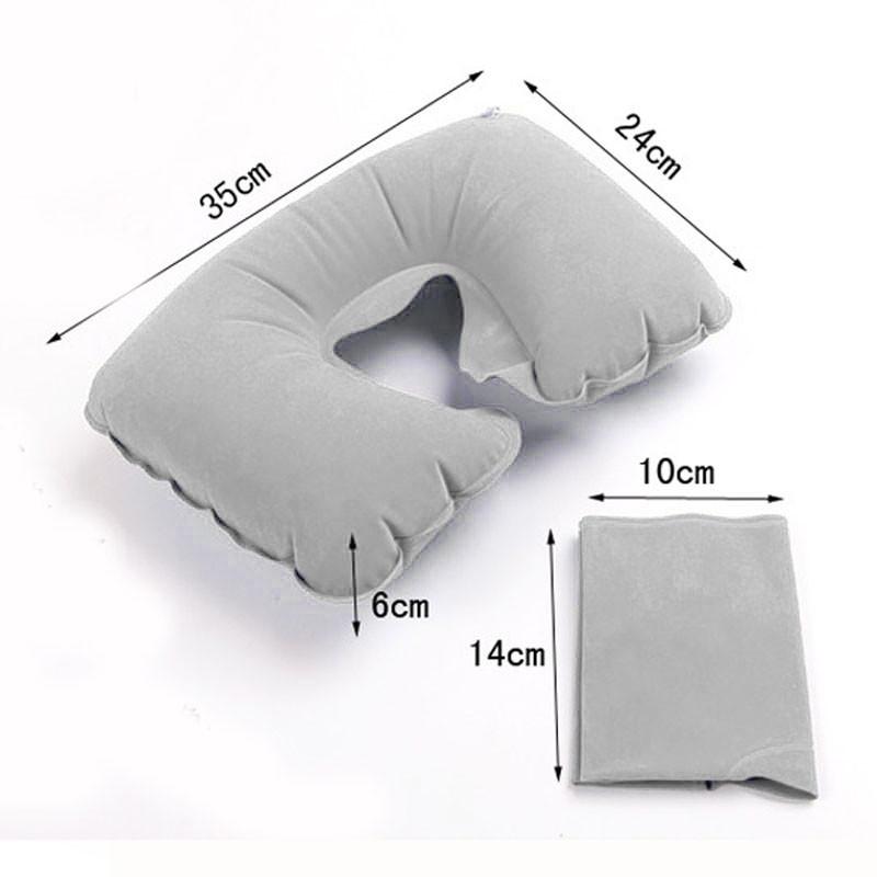 Надувная подушка U-образной формы  ~ 100 руб