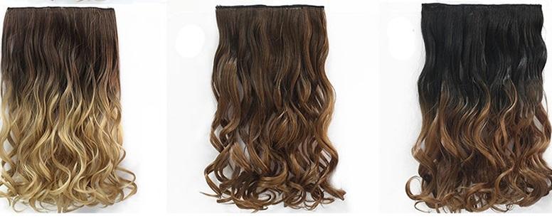 Волосы с эффектом омбре ~ 340 руб