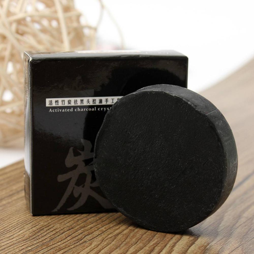 Угольное мыло ручной работы ~ 89 руб