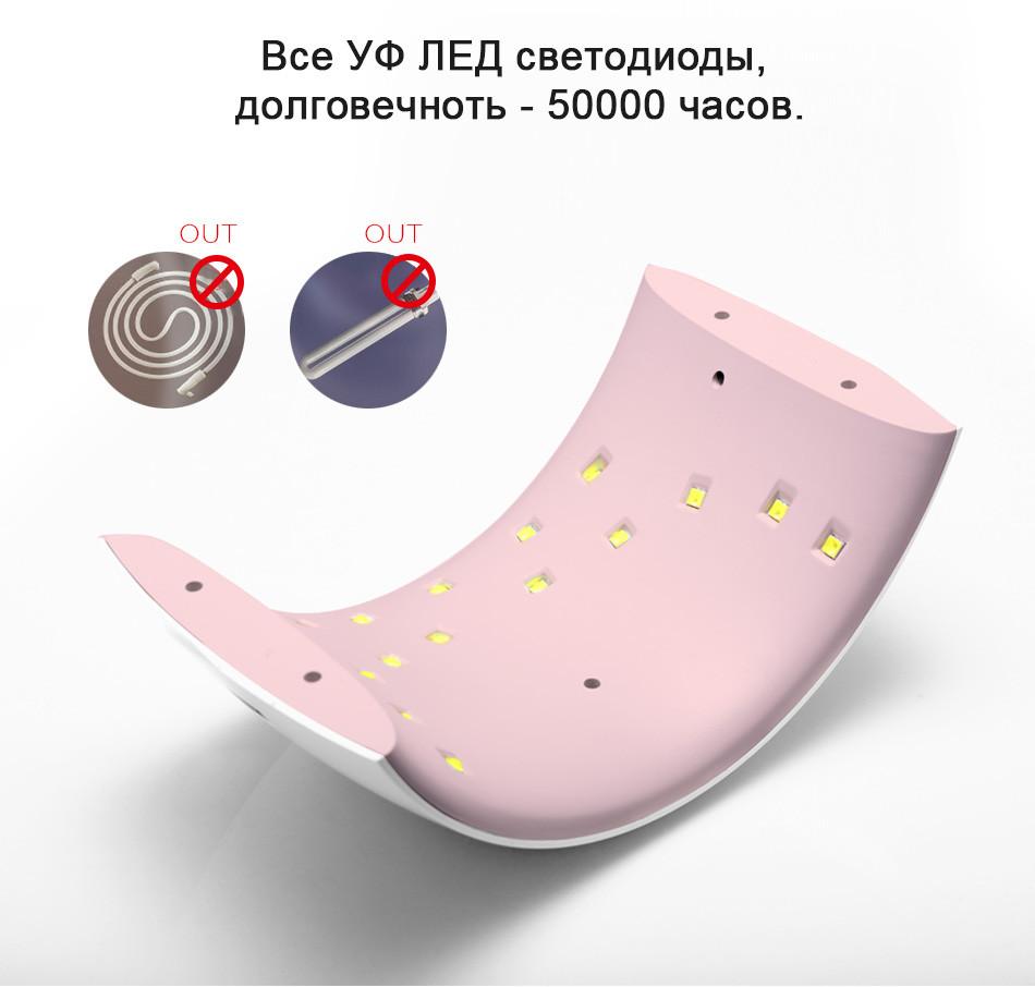 Стильная УФ-лампа фирмы SUNUV ~ 1300 руб