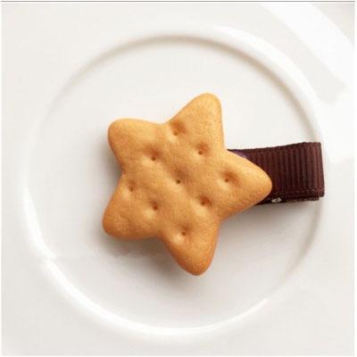 Оригинальные заколки-печенье для детей ~ 34 руб