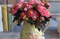 Искусственные цветы для дома: интересные варианты