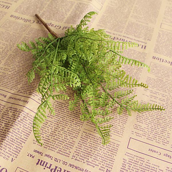 Листья искусственного папоротника ~ 50 руб