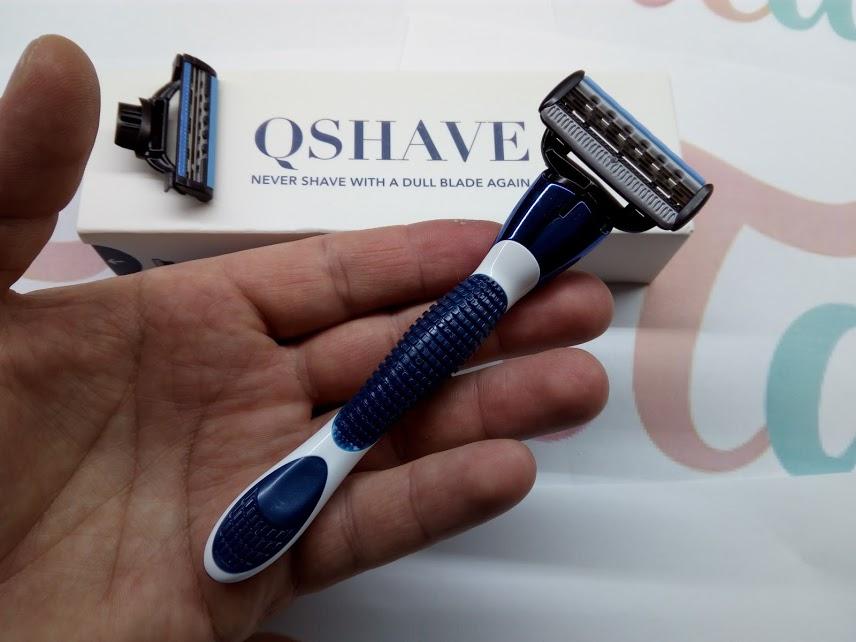 Качественный станок со сменными лезвиями от производителя QSHAVE ~ 420 руб