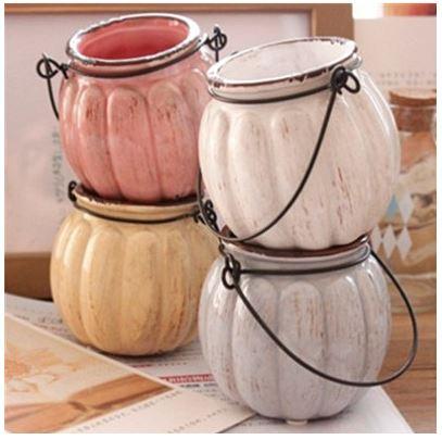 Старинная ваза-тыква из керамики ~ 250 руб