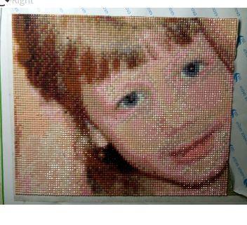 Картина алмазами по фото ~ 600 руб
