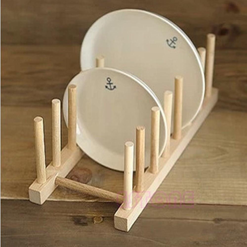 Деревянная сушилка для тарелок ~ 270 руб