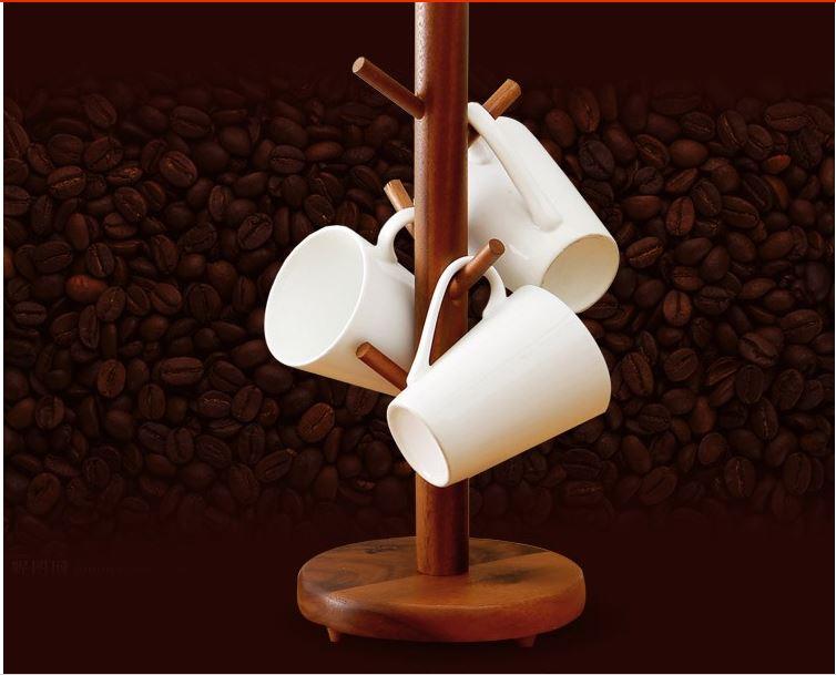 Деревянная подставка под чашки ~ 1275 руб