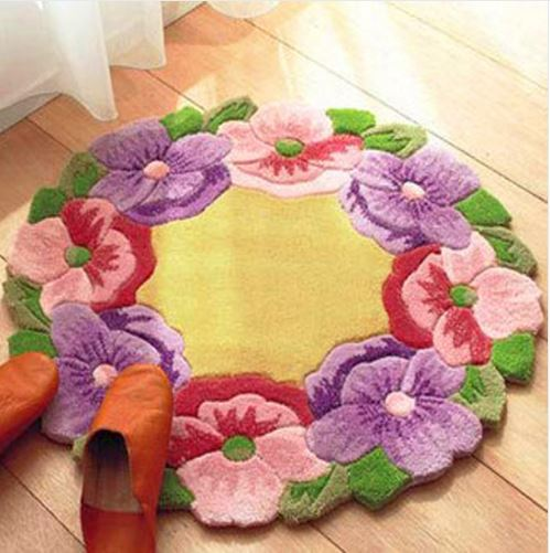 Набор для вышивки цветочного коврика ~ 1800 руб