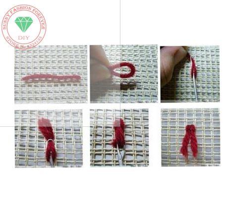 Набор для вышивки подушки Кролик ~ 1000 руб